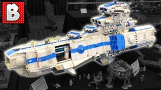Bricks LA 2017 LEGO Convention!!! | Paradise for LEGO Custom Builds!