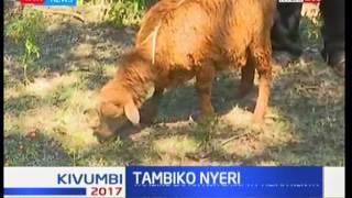 Wazee waanda tambiko la amani Nyeri