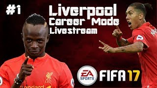 FIFA 17 LIVERPOOL CAREER MODE #1 (Livestream) - NOT AS PLANNED!