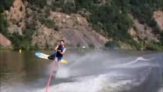 Basic water ski moves for beginers