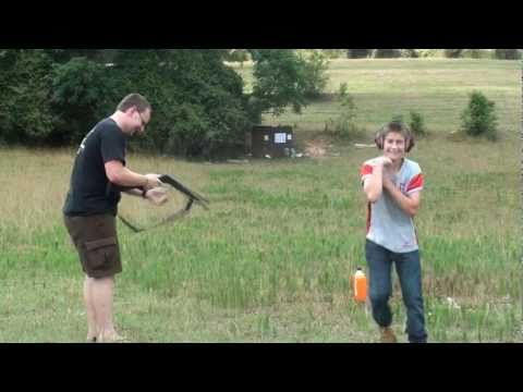 10 Gauge Shotgun VS 12 Year Old Boy