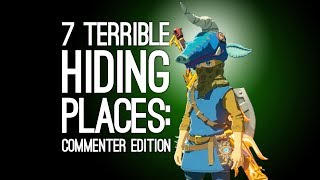 7 Terrible Hiding Places You Somehow Got Away With: Commenter Edition