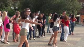 Флешмоб Kizomba Summer 2016 в Пензе. Драмтеатр