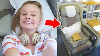 TEEN FLYING BUSINESS CLASS TO BALI! ✈️