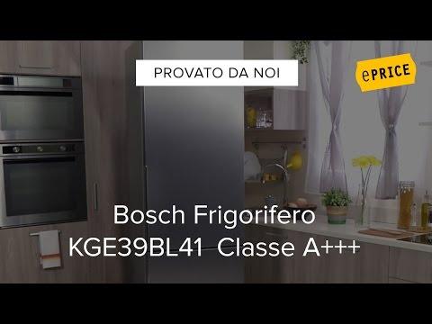 Video Recensione Frigorifero Bosch KGE39BL41