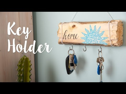 Beach Themed Key Hook - Sizzix