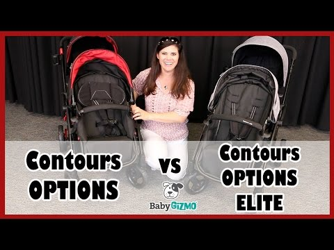 Contours Options vs Contours Options Elite Double Stroller Comparison