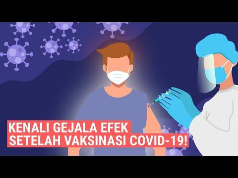 Simak! Kenali Gejala Efek Setelah Divaksinasi Covid-19