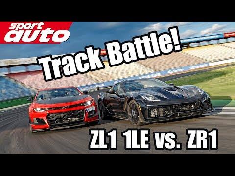 2019 Chevrolet Corvette Zr1 Vs Camaro Zl1 1le Track