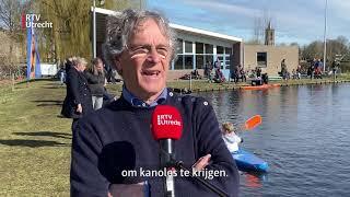 Kanoën op de schaatsbaan in Eemnes [RTV Utrecht]
