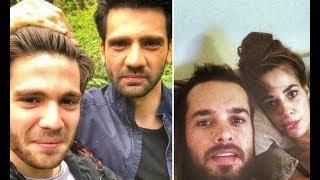 Турецкие актеры и актрисы с братьями и сестрами.