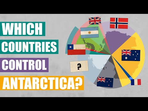 Which Countries Govern the Coldest Continent?