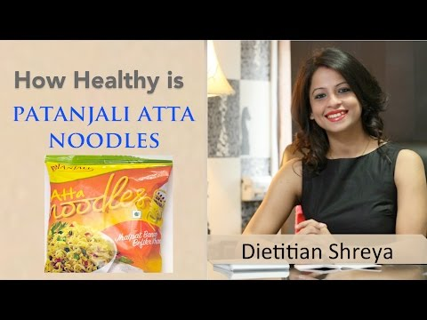 , title : 'How healthy is Patanjali Atta Noodles-Dietitian Shreya'