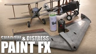Airbrushing Shadow and Distress Effects | Flite Test