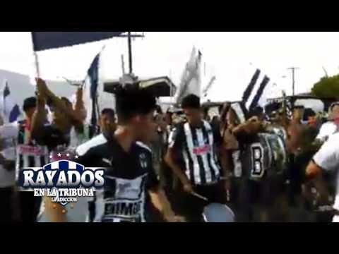 """""""Caravana - Bombo, Latir de los Corazones"""" Barra: La Adicción • Club: Monterrey"""