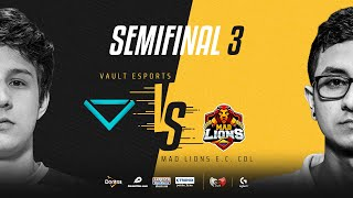 Vault Esports VS MAD Lions E.C. Colombia | Semifinales | Golden League Clausura - Playoffs | Mapa 3