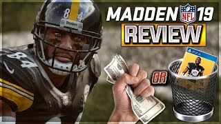 Madden 19 Review | Should You Buy It? -- The GOOD, The BAD, The UGLY