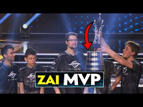 Zai, MVP of Team Secret & ESL One Katowice 2019 - Best Plays Dota 2