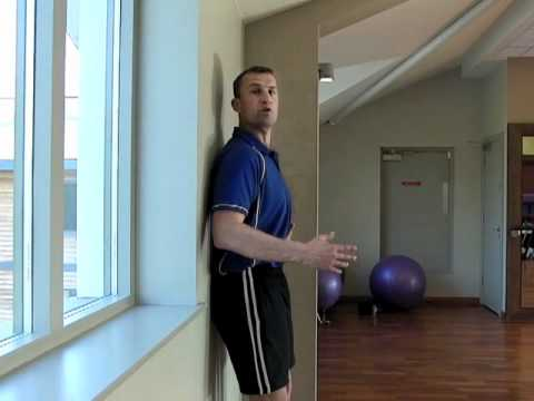 Test Your Back And Neck Posture Against A Wall