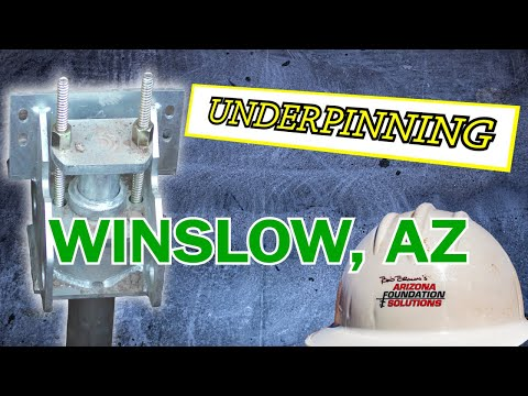 Winslow, Arizona Foundation Repair