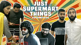 JUST SUPER MART THINGS   Comedy Skit   Karachi Vynz Official