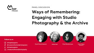 Ways of Remembering: Engaging with Studio Photography & the Archive