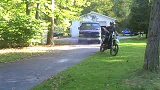 Predator Engine 420 cc Engine Converted to Two Cycle/Two Stroke/Stock piston