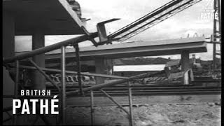 New Tay Bridge Under Construction - Dundee (1965)