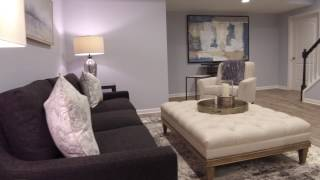 Novi, MI Finished Basement Walkthrough