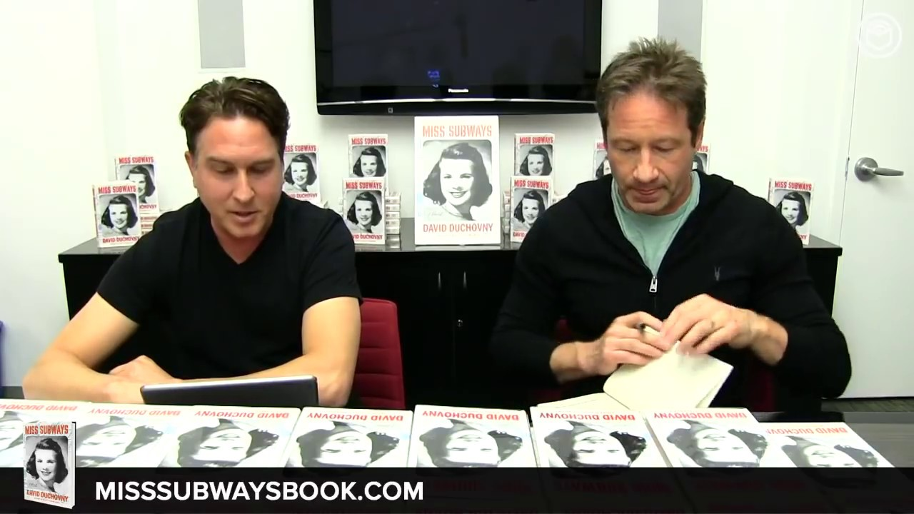 Miss Subways: A Novel by David Duchovny