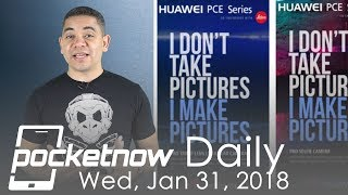 Huawei P20 insane camera, OnePlus 5T Oreo & more - Pocketnow Daily