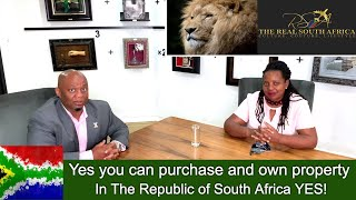 South Africa| We speak to the REAL ESTATE experts here in South Africa raise your expectations