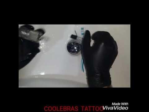 Proceso de limpieza y esterilización. Utensilios Tattoo  y piercing.