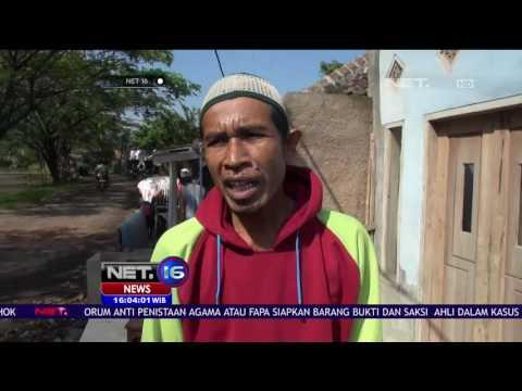 Angin Puting Beliung di Cianjur Jawa Barat Terpa Puluhan Rumah - NET16