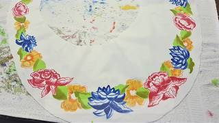How to make a handpainted dress | Universo Artesano