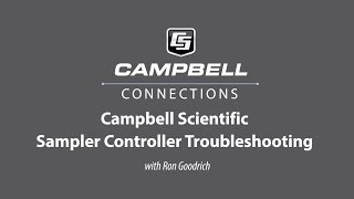 water sampler controller troubleshooting