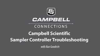 water sampler controller troubleshooting