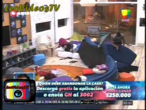 Matias molestando a Nicolas GH 2015 #GH2015 #GranHermano