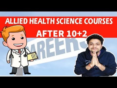 Allied Health Science Courses | Courses after 12th | MasterAmit Talks