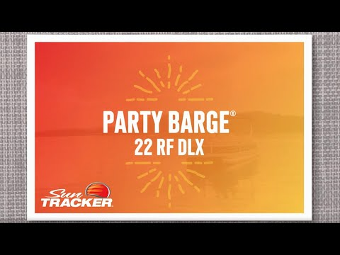 Sun Tracker Party Barge 22 RF DLXvideo