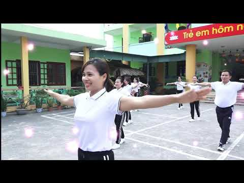 Video thể dục giữa giờ - trường Mầm non Đa Mai, thành phố Bắc Giang, tỉnh Bắc Giang