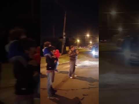 Vecinos de la zona Oeste volvieron a movilizarse para pedir mejoras de calles