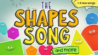 The Shapes Song And More 😀 🔴 💖  Learning Songs For Kids!