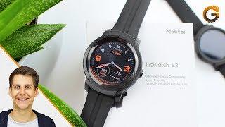 TicWatch E2: Wear OS Smartwatch im Hands-On