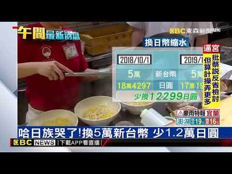 日圓狂奔! 換5萬台幣少吃10碗拉麵