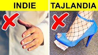 Nie rób tych rzeczy w innych krajach