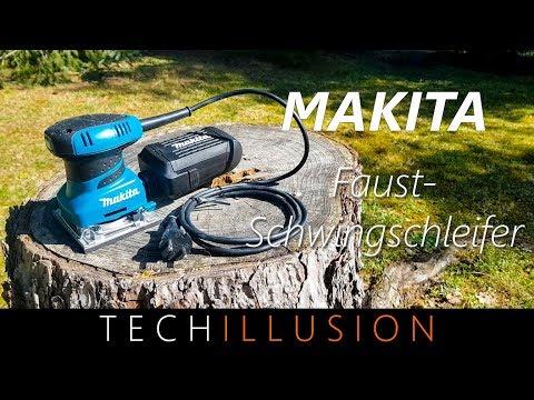 🛠HANDLICHSTER SCHWINGSCHLEIFER von Makita?! - Bo4558 - Review und Test
