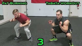 Fat Burning Tabata Workout (HIIT Cardio) 3 by Anabolic Aliens
