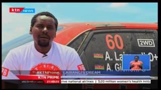 KTN Prime: Kenya national 2 wheel rally champion Alex Lairang'i is hopeful for Guru Nanak rally