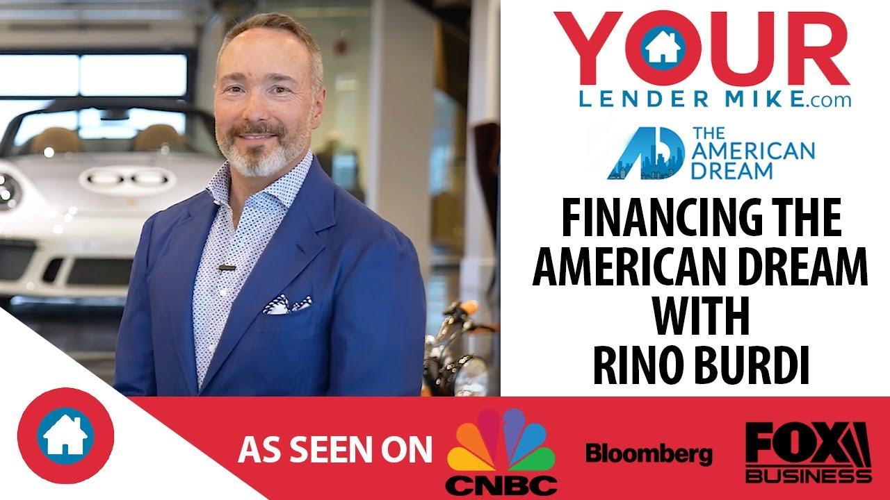 Financing the American Dream: Rino Burdi of Burdi Clothing
